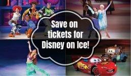 Disney on Ice savings screenshot