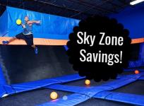 Sky Zone savings banner