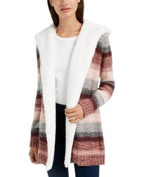 Macys open front juniors sweater