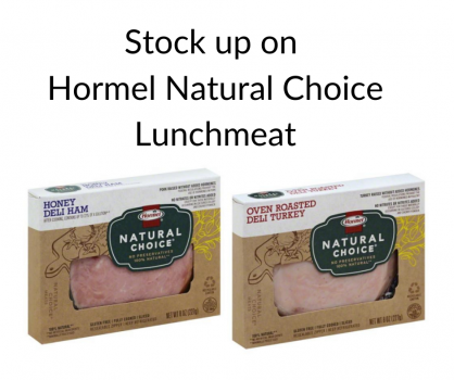 Hormel Natural Choice lunchmeat