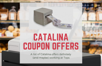 Tops Markets Catalina Coupon Offers
