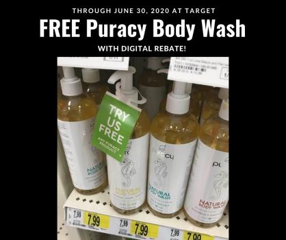 free puracy body wash at target