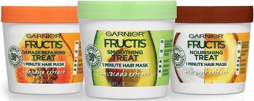 garnier fructis hair mask sample