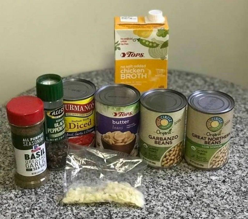 pasta fagioli ingredients