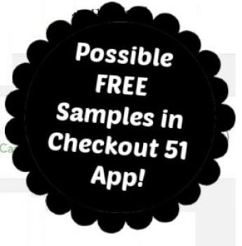 possible free sample in Checkout 51 app
