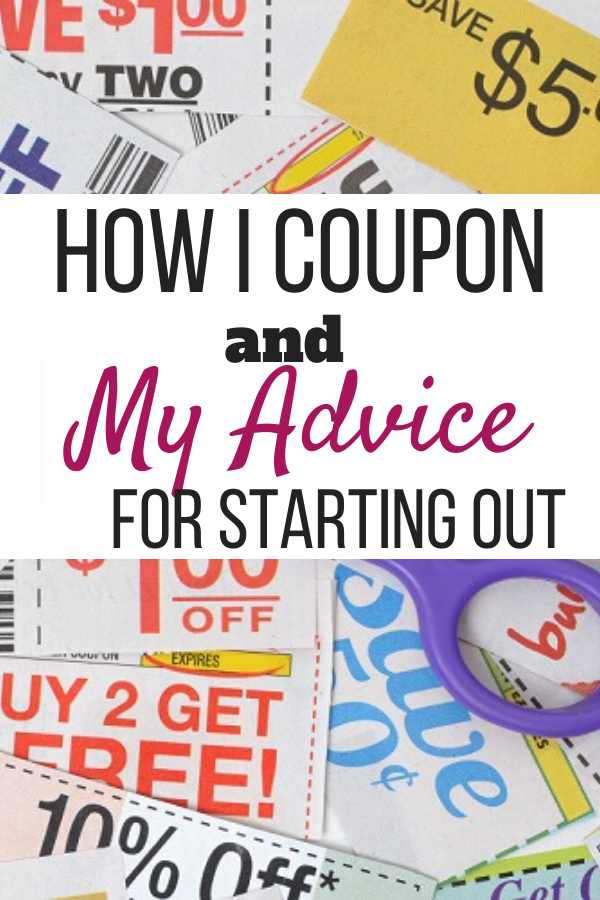 How I Coupon and My Advice For Starting Out