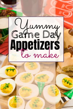 Yummy Game Day Football Appetizers