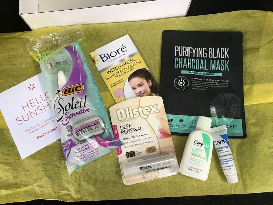 Walmart Beauty Box from Fall 2019