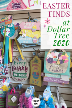 Easter Finds at Dollar Tree
