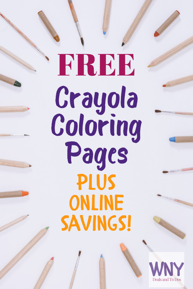 Free Coloring pages plus online Crayola sales