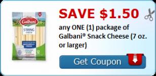 Galbani snack cheese coupon