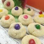 Jelly Bean Sugar Cookies Close