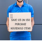 Save $15 on $50 Household Purchase