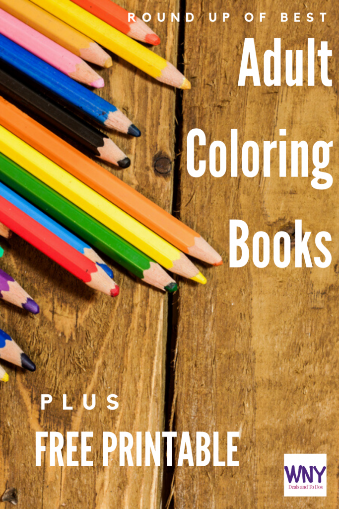 So you want to find a new Adult coloring book to help pass the time, destress, or just because it is something you enjoy?  Here is a round-up of some of my favorite finds when it comes to adult coloring books. #adultcoloring #coloringbooks #color #adultcolor #free #freeprintable #printablecoloringsheet #destress #relax #adultcoloringbooks