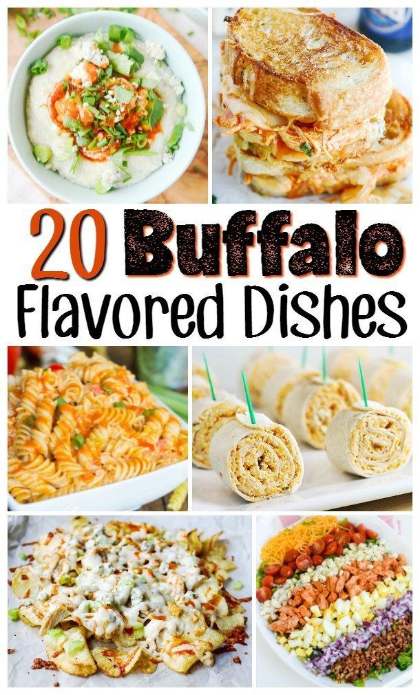Buffalo Flavor Inspired Recipes