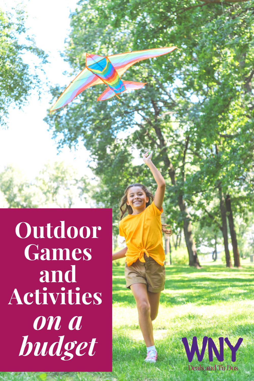 Road trips can be a great way to spend some summer days, but most of the time you will need to come up with ways to keep your kids entertained.  Here are a few outdoor games and activities to enjoy while on a budget.