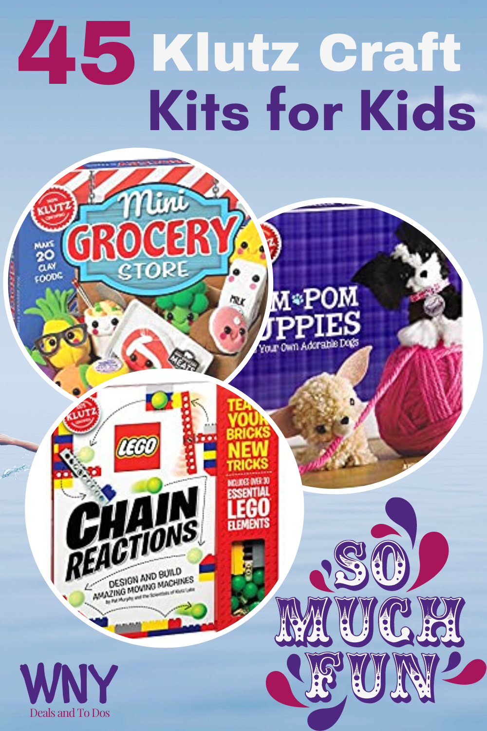 These Klutz Craft Kits are a fun way to keep the kids entertained and get their creative juices flowing; no batteries required!