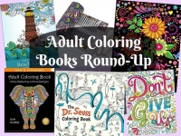 Adult Coloring Books Round-Up + FREE Printable Sheet