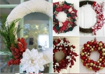 15 DIY Christmas Wreaths