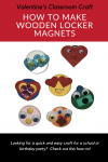 How To Make Wooden Locker Magnets