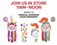 JCPenney: FREE Magical Guardian Door Ornament Event (March 14th)