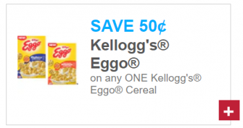 Kellogg's Eggo Cereal Coupon + Upcoming Deal at Tops