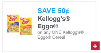 Kellogg's Eggo Cereal Coupon + Upcoming Deal at Tops