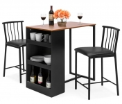 Kitchen Counter Dining Set w/2 stools =$126.90 shipped