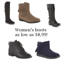 Kmart Women's Boots as low as $8.99
