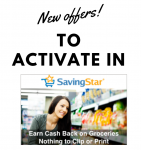 Possible Savingstar One or Many Offers In Your Account