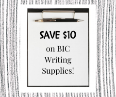 BIC Writing Supplies Deal Save $10 on Amazon