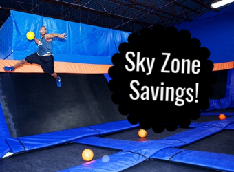Sky Zone Deal on Admission or Birthday Party Package