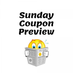 Sunday Coupon Insert Preview for this weekend