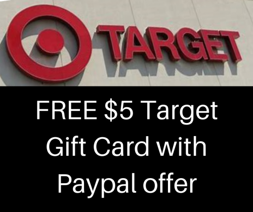 5 Off Any Paypal Purchase Free 5 Target Gift Card First 70 000 Today Only Wny Deals And To Dos Purcha
