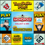Tops Markets:  2013 List of RARE Monopoly Game Pieces
