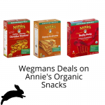 Wegmans Deals on Annie's Organic Snacks