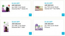Air Wick printable coupons  Up to $11.50 off