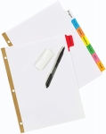 Avery Write and Reuse Index Tab Binder Dividers