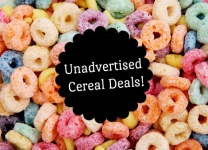 Tops Cereal Clearance = as low as FREE with coupons and cashback