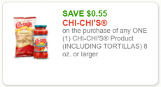 Chi Chi's Printable Coupon = great deals at Tops