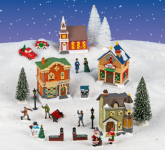 Cobblestone Corners 2020 Christmas Village Entire Collection Now Available!
