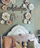 Personalized WALL DECOR First & Middle Name Custom Sign