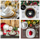 4 Holiday Place Setting Options From Dollar Tree