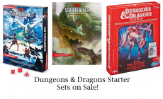 Dungeons & Dragons Starter Kits On Sale (including Stranger Things!)