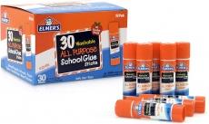 Elmer's Washable Glue Sticks, 30 ct. Box Just $5.39 = Lowest Price!
