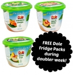 FREE Dole Fridge Packs with doublers (print coupons now!)