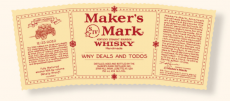 FREE Maker's Mark Personalized Label