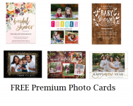 Free 5×7 Premium Photo Cards 6-Pack at Walgreens (with in-store pickup)