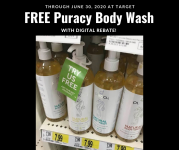 FREE Puracy Natural Body Wash at Target with rebate