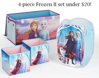Disney Frozen 2 Toy and Laundry Storage Set Just $17.99 (reg. $43)